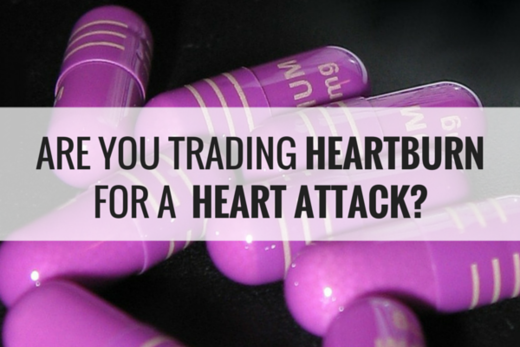 proton pump inhibitors trading heartburn heart attack