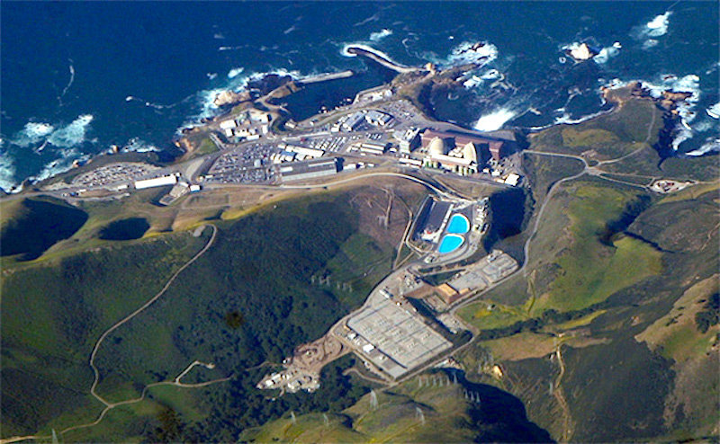 Avila Beach Ca Diablo Power Plant