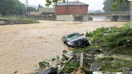 West Virginia flooding June 2016