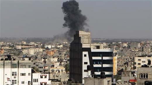Israel air strikes in Gaza