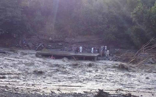 flash floods in Chitral, Pakistan