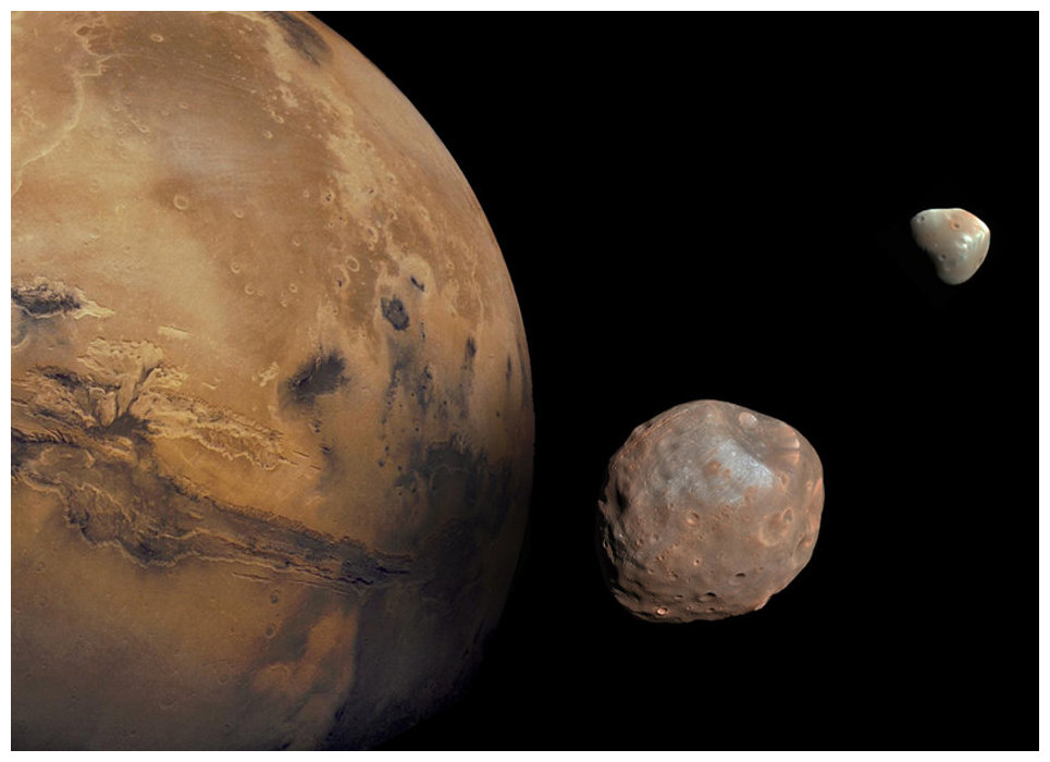 Mars once had 3 moons besides Phobos and Deimos -- Science & Technology -- Sott.net