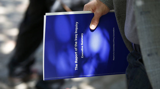 copy of the executive summary of The Report of the Iraq Inquiry, by John Chilcot