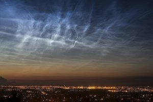 noctilucent clouds uk