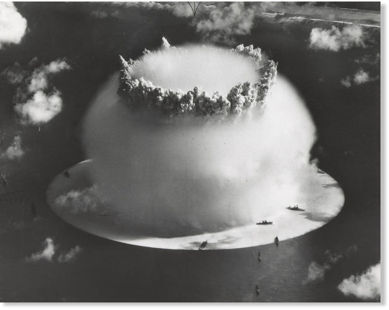 70 years ago the U.S. set off a nuke underwater and it ...