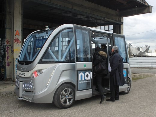 Self-driving shuttle to start operations in Lyon, France in September