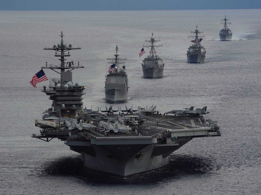 US Navy S China Sea