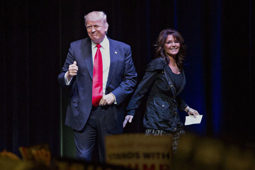 Sarah Palin being considered for secretary of Veterans Affairs