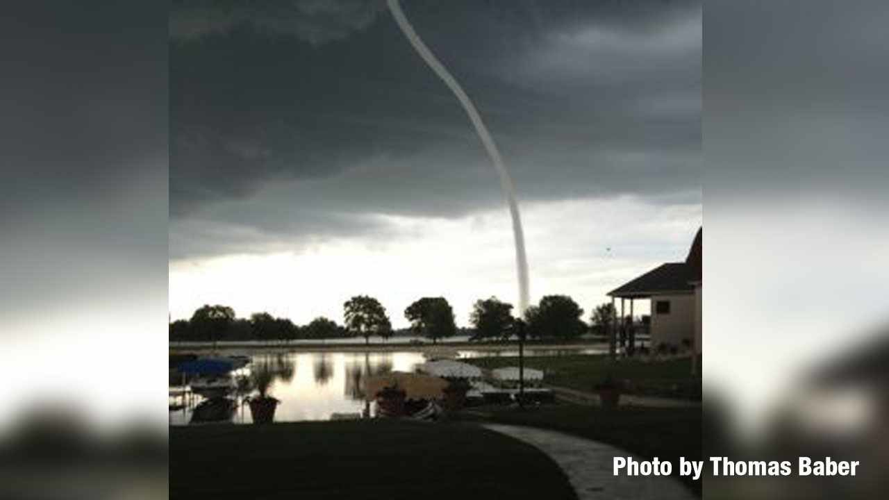waterspout tornado The waterspout made land on jan 25 around 4:40 pm, making it the area's first tornado since 1998.