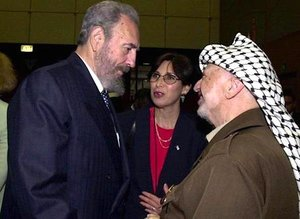Fidel and Arafat