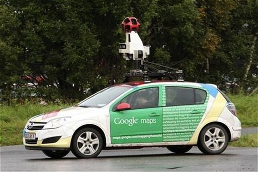 google street view car privacy