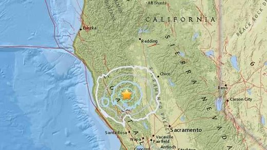 Magnitude 51 earthquake shakes Northern California