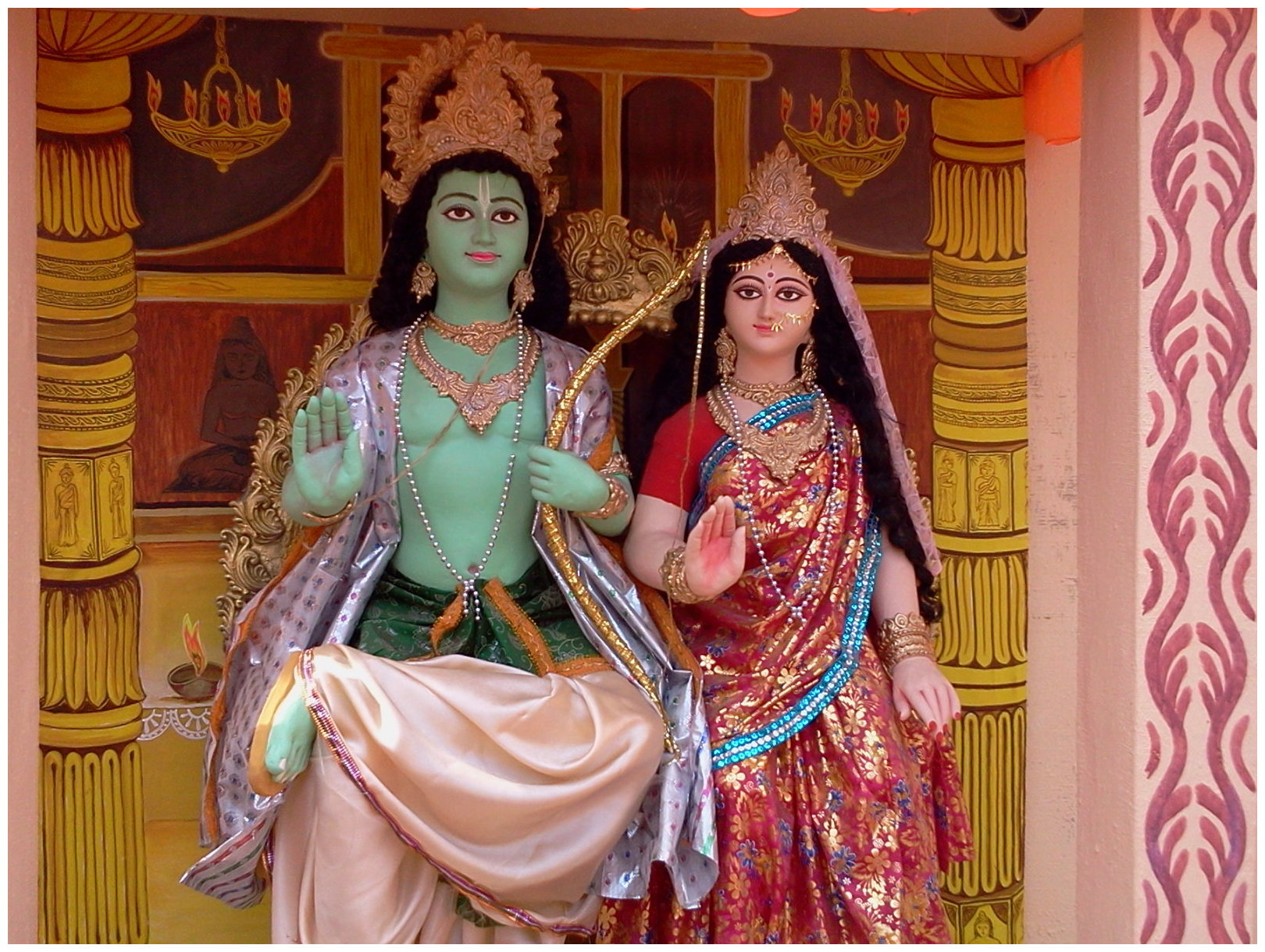 Newly Discovered Hindu Epic Ramayana Portrays Indian Gods