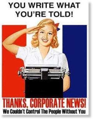 corporate news poster