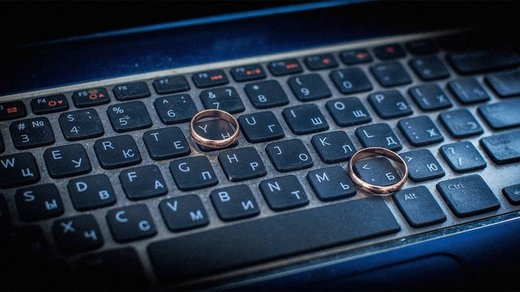 wedding rings computer