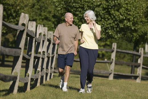 senior fitness, exercise elderly, walking