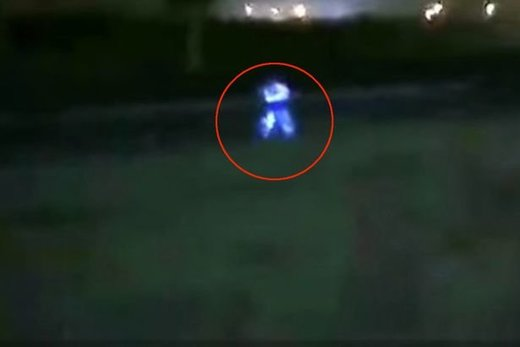 Electric-blue 'humanoid' creature caught on camera in Peru (VIDEO)