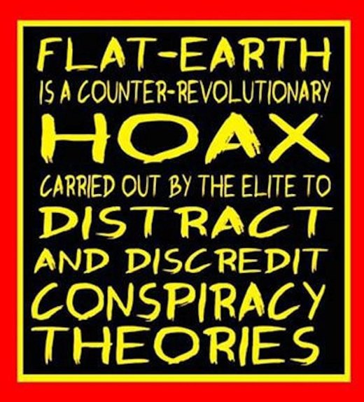 The real conspiracy: Flat earth is a psyop