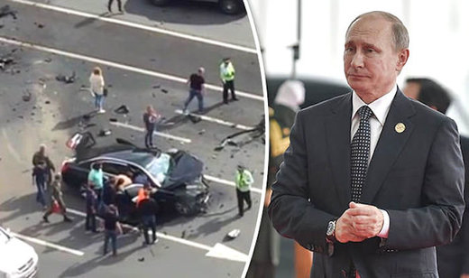 Moscow: Putin's official presidential car in head-on-crash, kills 'favorite chauffeur'