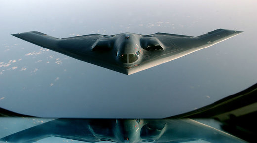 US stealth bomber