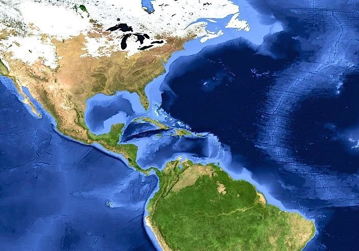 new isthmus timeline between north and south american landmasses