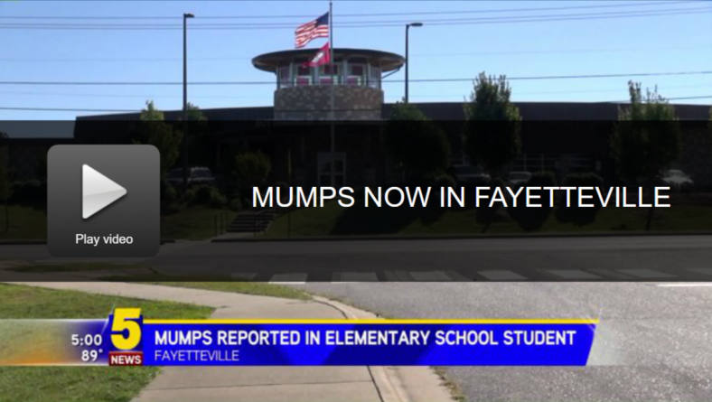 Arkansas hit by mumps outbreak - only among the vaccinated -- Health ...