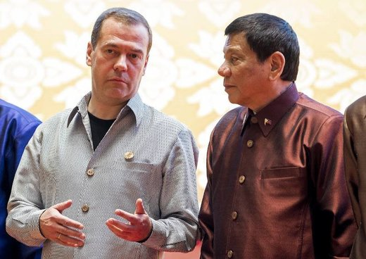 Russia and Duterte