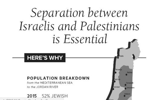 advertisement an Israel lobby group ran in the New York Times