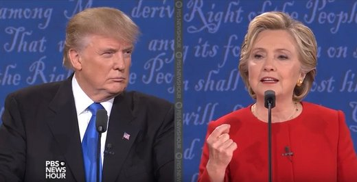First Clinton-Trump debate: Worth a laugh, but not much else
