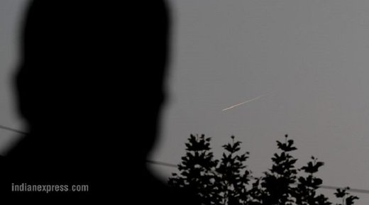 Meteor over Srinagar mistaken for missile attack