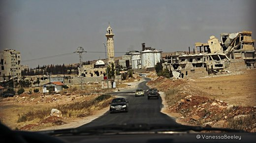 road to Aleppo