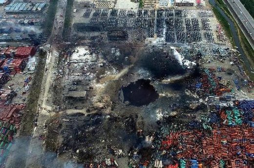 Is there more to the 2015 Tianjin, China, explosion than meets the eye?