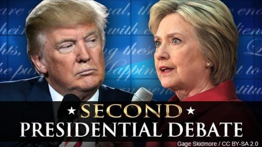 Mainstream media sez: 'Hillary won 2nd prez debate' - But nearly all online polls indicate viewers think Trump won