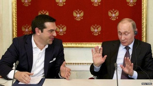 Did Putin save EU from collapse? French prez on Grexit: 'Russia tipped us off about Syriza drachma plan'
