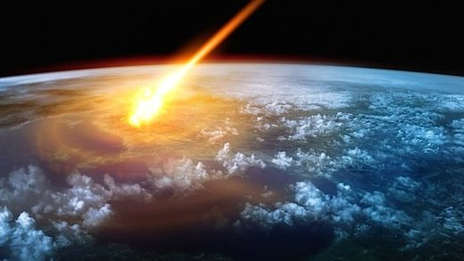 comet strike earth