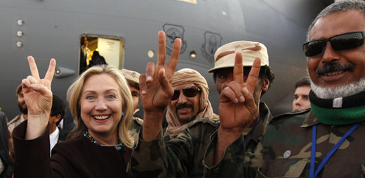 Public face vs private face: Killary knew all along that Qatar and Saudi Arabia are funding ISIS