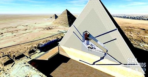 Use of cosmic rays, space particles, reveal two 'secret chambers' in Egypt's Great Pyramid