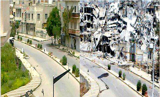 Homs: Before and After