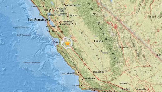 Shallow magnitude 3.8 earthquake strikes in central California