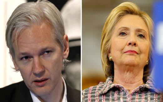 Assange and Clinton