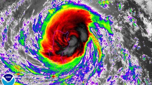 Typhoon Haima strikes the Philippines; second powerful storm in a week