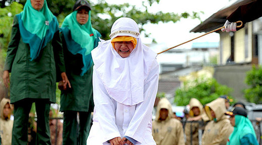 Indonesia: Woman flogged for standing too close to her boyfriend