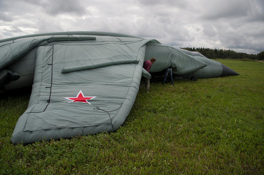 Russian inflatable jet 2
