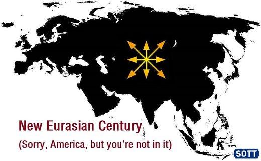 © sott.net – Nowe euroazjatyckie stulecie (Przykro nam, Ameryko, ale ciebie tu nie ma)