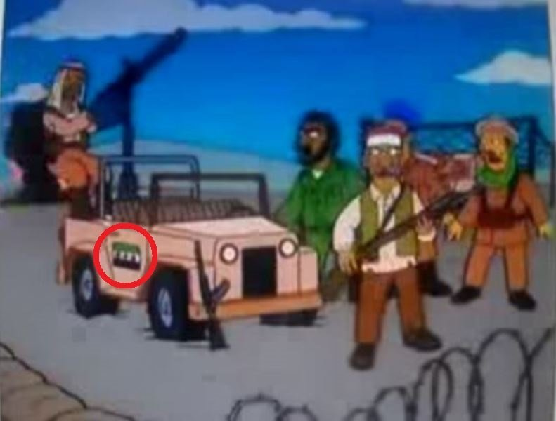 the simpsons crystal ball bombing syrian rebels and 6 other