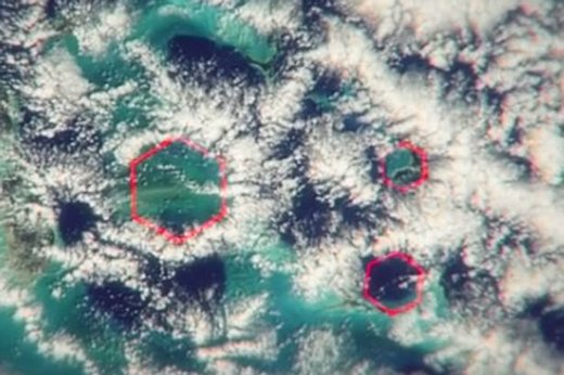 Could mysterious hexagonal clouds in Bermuda Triangle be behind centuries of bizarre disappearances?