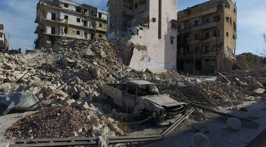 US-backed terrorists shell Aleppo exit route forcing civilians to stay