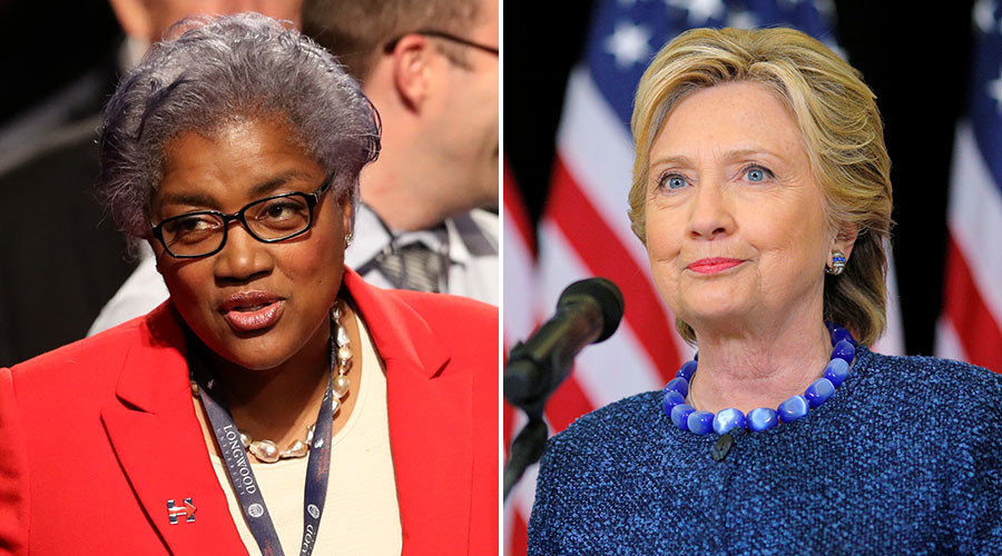 donna brazile out at cnn busted by wikileaks sharing questions with