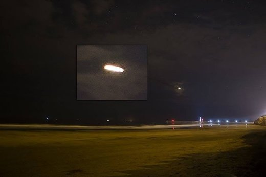 Bright UFO, Whitby, UK