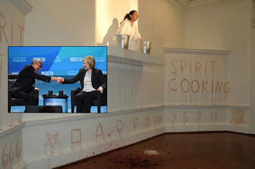 "Sickos: Wikileaks reveals Podesta bros participate in disturbing, occult-themed ""spirit cooking"" involving copious bodily fluids?"